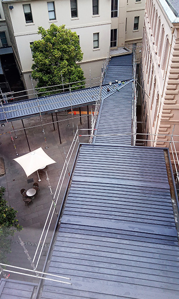 Steel Fabrications & Metal Roofs Vertical