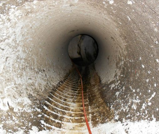 Dandenong Market CCTV Camera Inspection on Storm Water Drain Project - Camera View