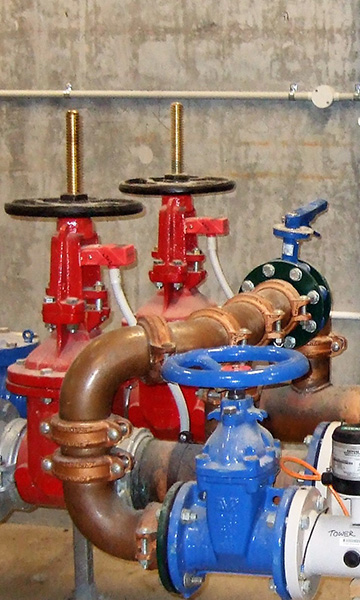 Backflow Prevention and Fire Services Vertical